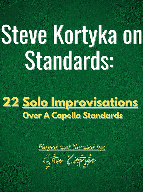 Bb Instruments - 22 A Cappella Standards