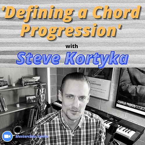 'Defining a Chord Progression'