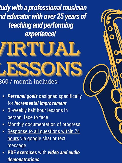 Enroll in Virtual Lessons