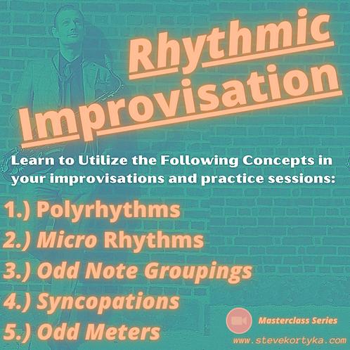 Rhythmic Improvisation