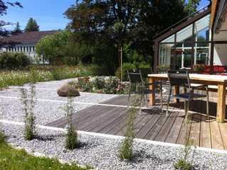Welches Material sich zum Terrassenbau eignet