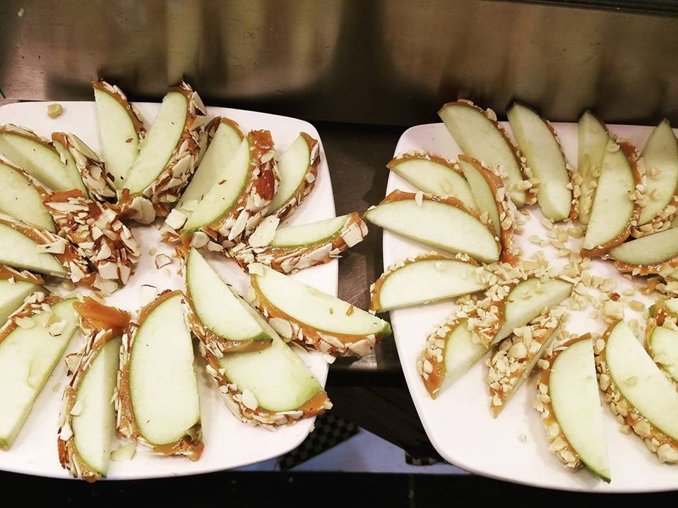 Caramel Apple Wedges