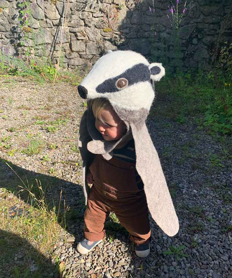 Badger disguise