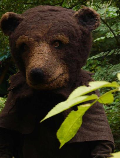 Brown bear: re-wilding Clissett Wood