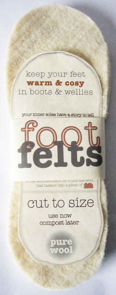 Footfelts for boots & wellies