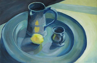 and Lemon still life
