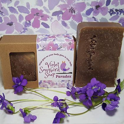 Violet Songbird Soap: Paradox