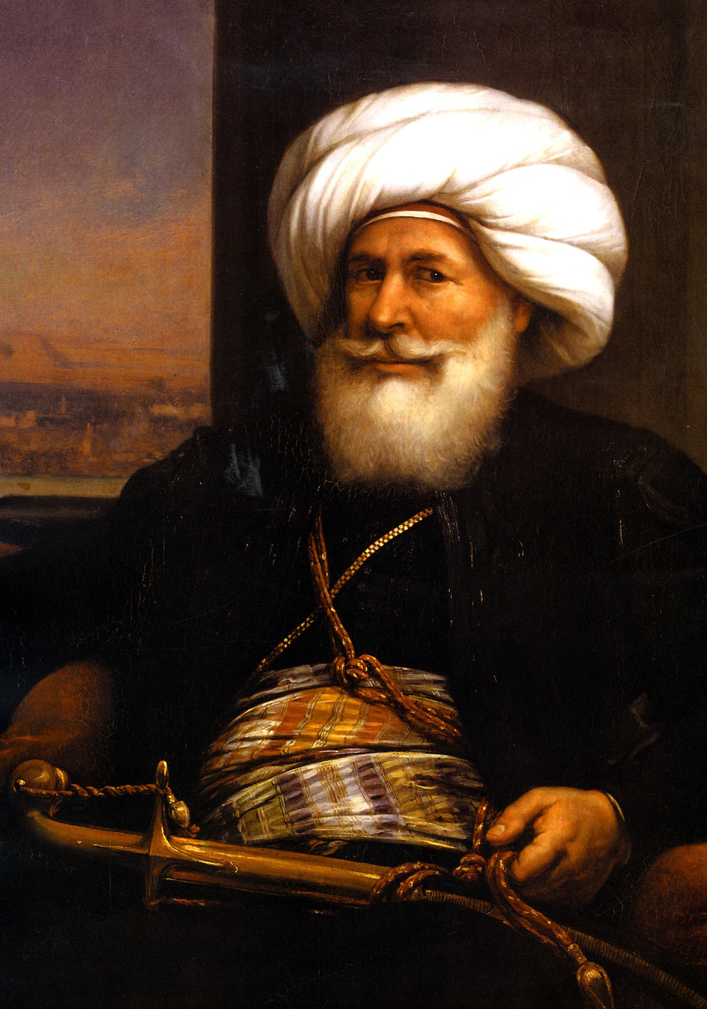 Muhammad Ali Pasha. Khedive of Egypt and Founder of the Turkiyah.