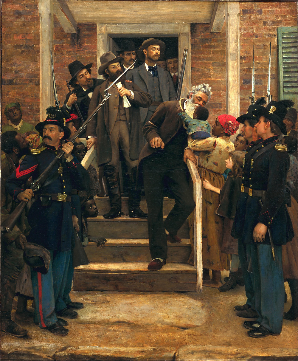 "Some believe that ""John Frum"" is a corruption of the name ""John Brown,"" the nineteenth-century American abolitionist."