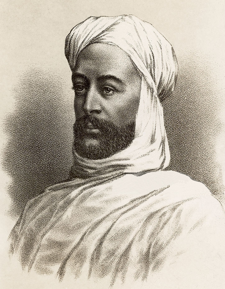 Muhammad Ahmad al-Mahdi. Self-Proclaimed Mahdi and Founder of the Mahdiyya.