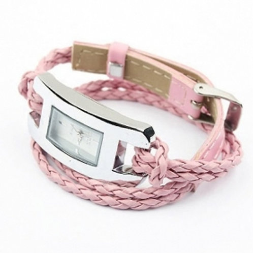 Handmade Leather Bracelet Watch