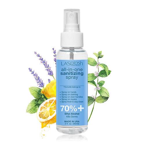 LA Splash Fragrance Alcohol Mist Spray 90 ml 70% + Clear Mind
