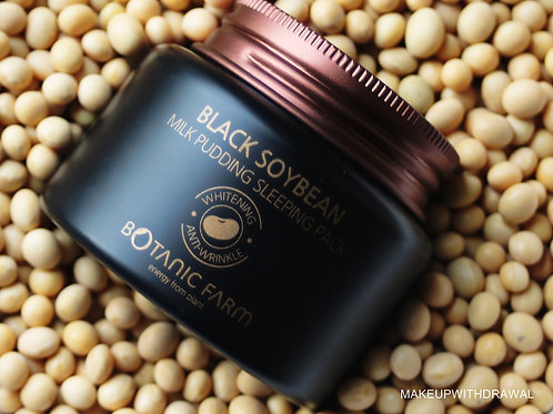 Botanic Farm Black Soybean Milk Pudding Sleeping Pack