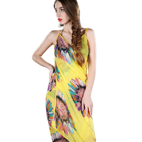 Summer Beach Wrap Dress