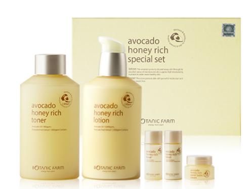 Botanic Farm Avocado Honey Rich Special Set