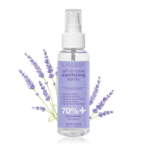 LA Splash Fragrance Alcohol Mist Spray 90 ml 70% +Lavender