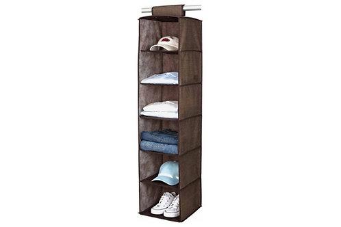 E-Space Non Woven Sweater Shelves / Closet Organizer, 6 Compartments