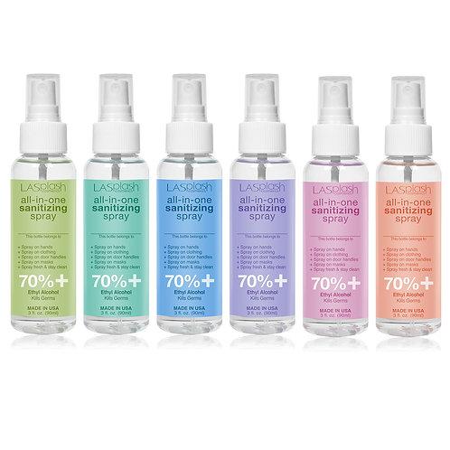 LA Splash Fragrance Alcohol Mist Spray 90 ml 70% + Assorted Scents