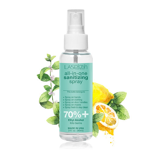 LA Splash Fragrance Alcohol Mist Spray 90 ml 70% + Lemon Peppermint