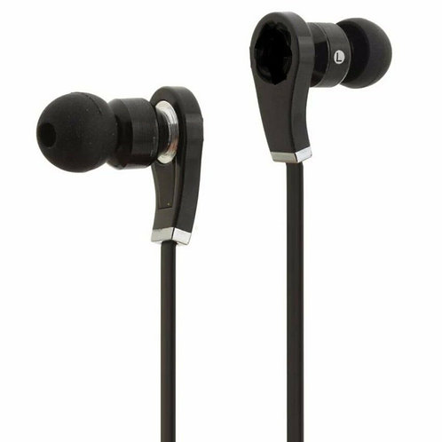 Black In-Ear Headphone with Case