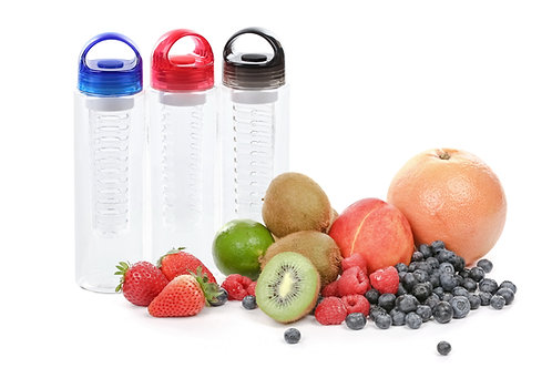 Sport Fruit infusion Water Bottle BPA Free Infuser Fruit Bottle - Pack of 3
