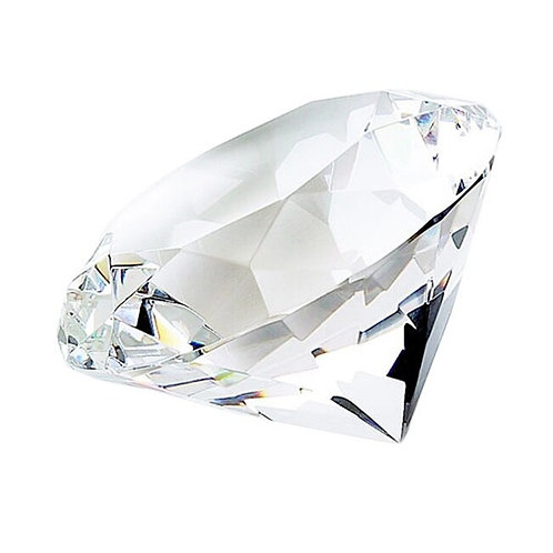 Elegance Diamond Shaped Paperweight