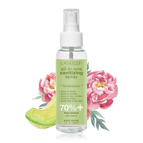 LA Splash Fragrance Alcohol Mist Spray 90 ml 70% + Sweet Peony & Melon