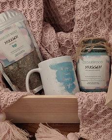 Handmade Tiffany  Blue Happy Gift Sets