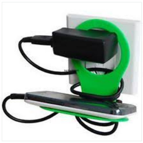 Smartphone Wall Charger Holder