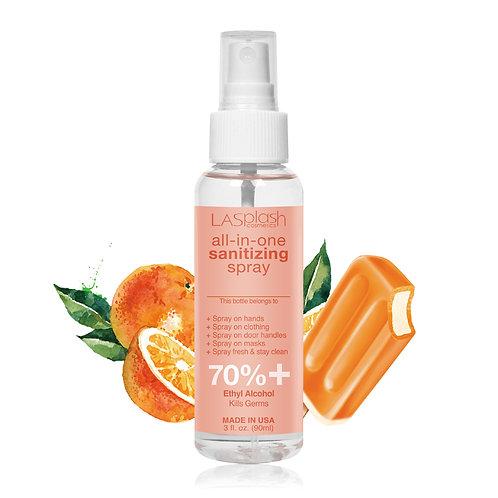 LA Splash Fragrance Alcohol Mist Spray 90 ml 70% + Orange Creamicle
