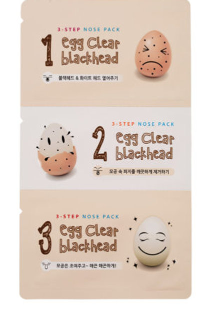 Botanic Farm Egg Clear Black Head 3-Step Nose Pack (Set of 5)