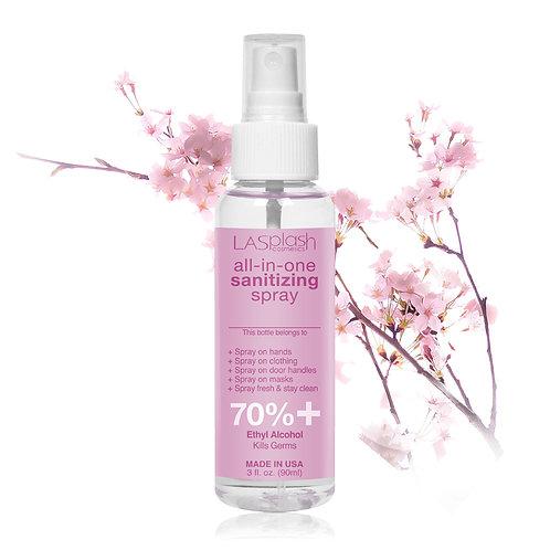 LA Splash Fragrance Alcohol Mist Spray 90 ml 70% +Cherry Blossom