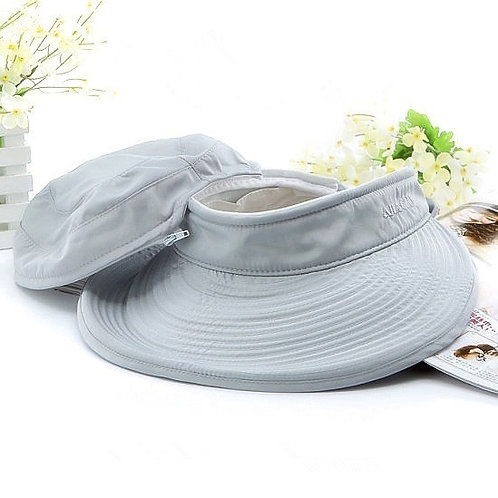 2-in-1 Foldable Sun Visor and Hat