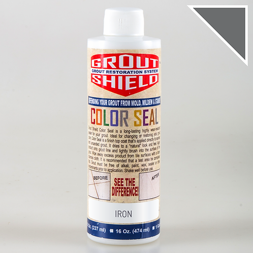Color Seal_8oz Bottle_Covers up to 250 sq.ft. (Iron)