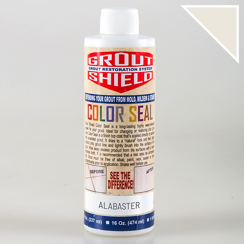 Color Seal_8oz Bottle_Covers up to 250 sq.ft. (Alabaster)