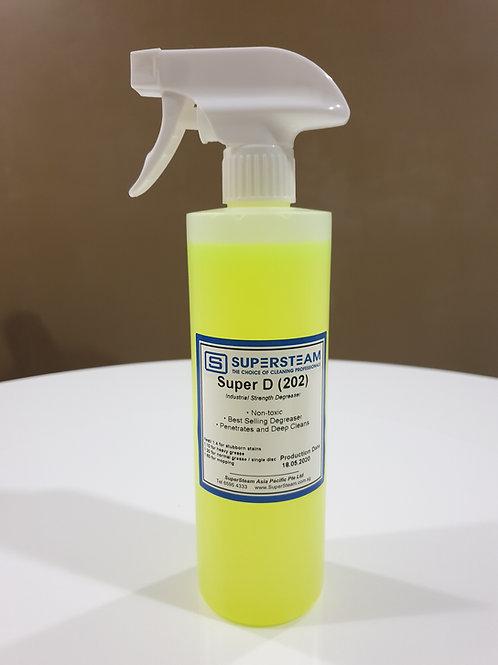 SUPER-D (Degreaser) _ 500ml Spray Bottle