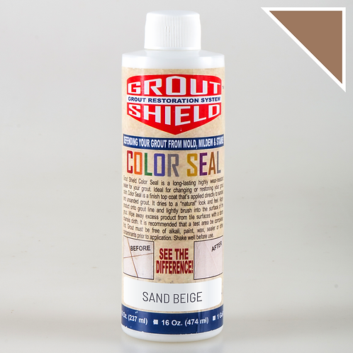 Color Seal_8oz Bottle_Covers up to 250 sq.ft. (Sand Beige)