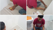 GET TO KNOW OUR 3 STEPS PROCESS TO RESTORE AND PROTECT THE GROUT FOR YOUR HOME.