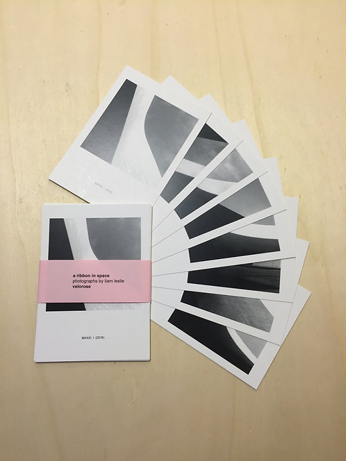 liam leslie, MAXXI postcards (complete set)