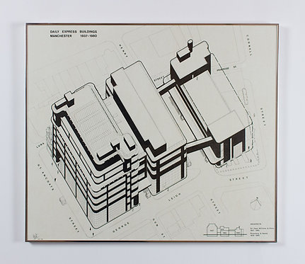 rosenberg & gentle, daily express buildings manchester 1937-1980 (1980)