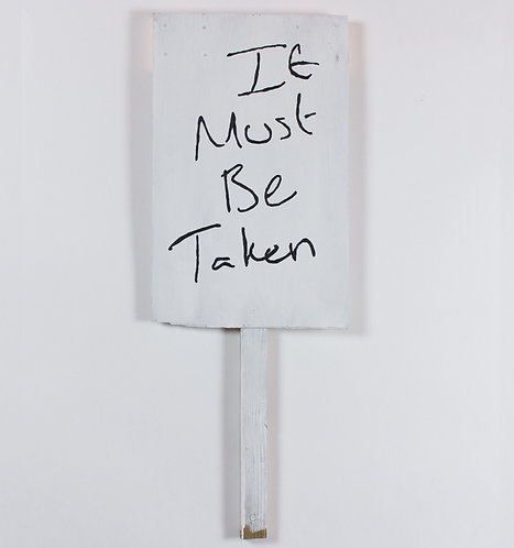 abbie cairns, it must be taken (2017)