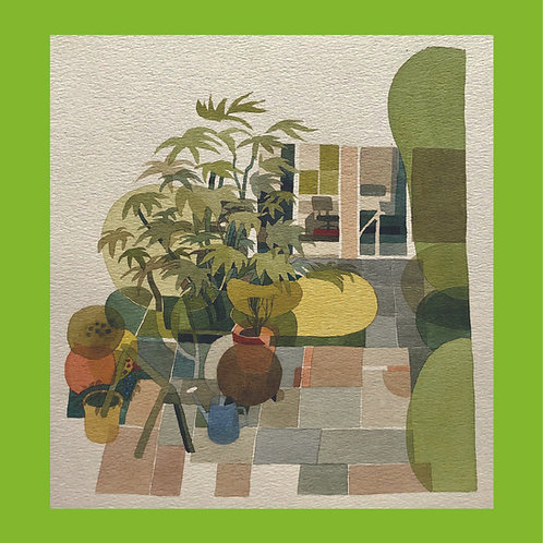 kit allsopp, untitled (patio garden) (1970s)