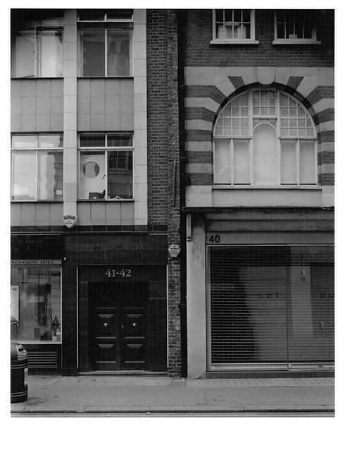 robb mcrae, untitled (eastcastle street) (2010)