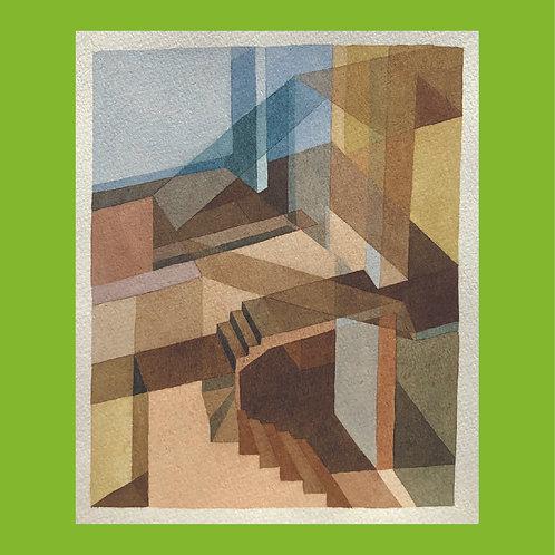 kit allsopp, untitled (staircase) (1980s)