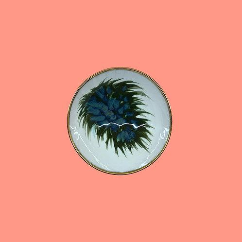 reiko kaneko, botanical glaze small footed bowl (2020)
