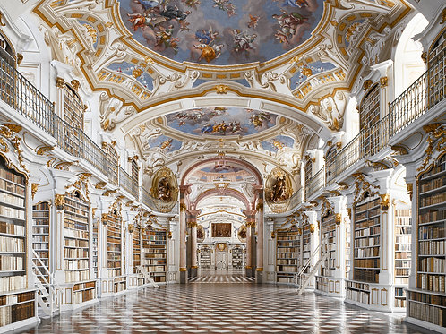 will pryce, admont abbey library, 1776, admont, austria (2011)
