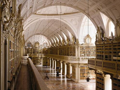 will pryce, mafra palace library, 1771, mafra, portugal (2012)