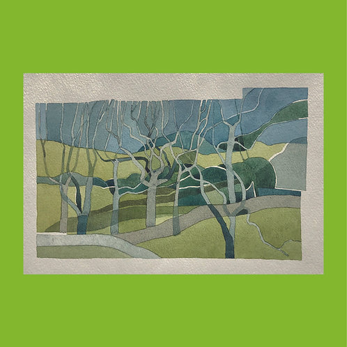 kit allsopp, untitled (stream in winter) (1980s)