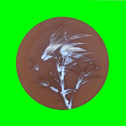 reiko kaneko, terracotta flat platter (2020)