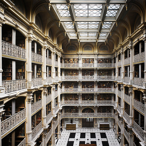 will pryce, the george peabody library, 1878, baltimore, md, us (2012)